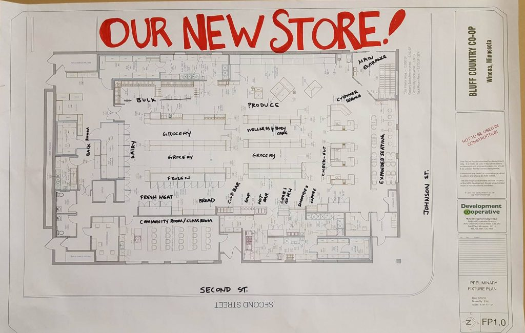 The Final Draft Of Our New Storeu0027s Floor Plan Is Complete! You Can See The  Plan On Display In Our Store. Just Check Out The Expansion Update Area, ...